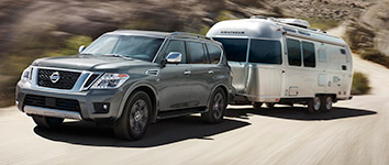 2017 Nissan Armada Impressive Towing Capacity
