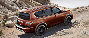 2017 Nissan Armada Off-Road Ready