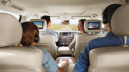 2017 Nissan Armada Tri-Zone Entertainment System