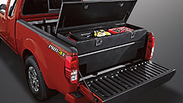 2017 Nissan Frontier Sliding Tool Box
