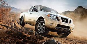 2017 Nissan Frontier Rugged Off-Roading