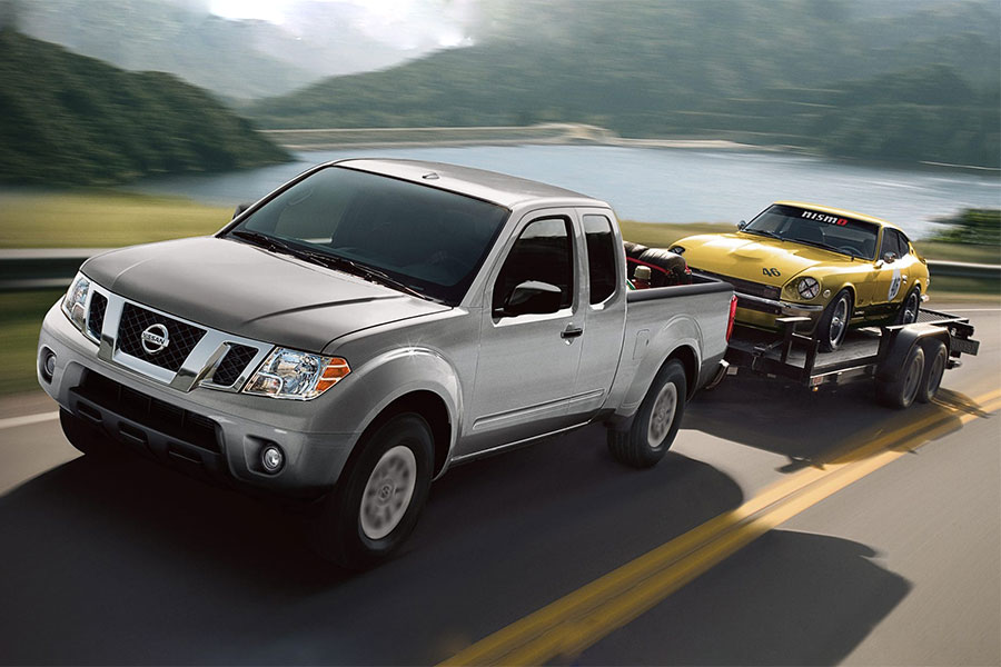 Used Nissan Frontier Towing