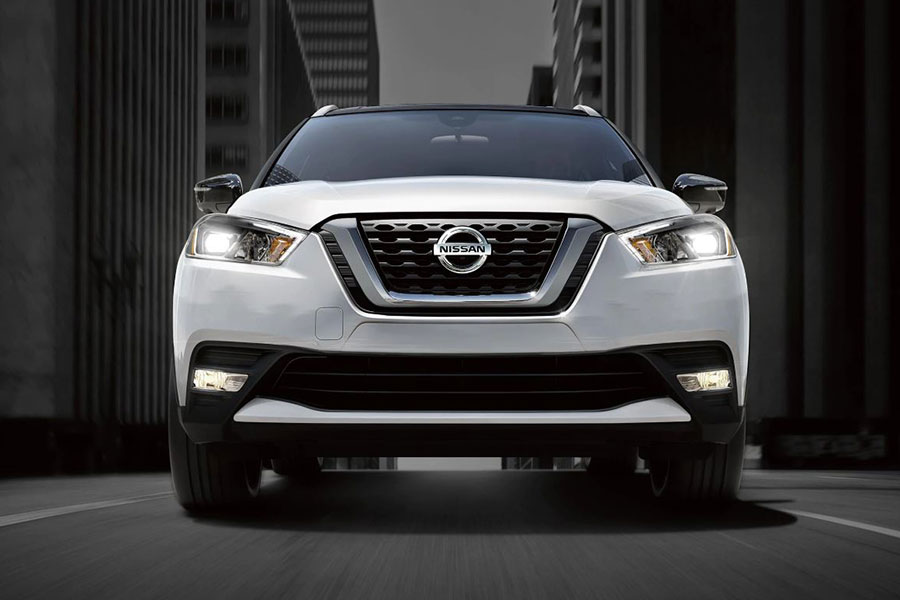 2020 Nissan Kicks on the Road