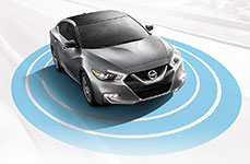 2017 Nissan Maxima AroundView Monitor
