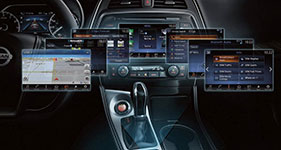 2017 Nissan Maxima NissanConnect with Apple CarPlay