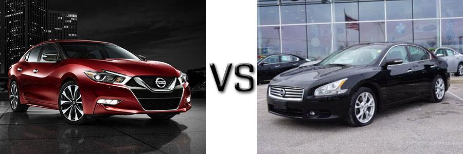 2016 Nissan Maxima vs 2012 Maxima