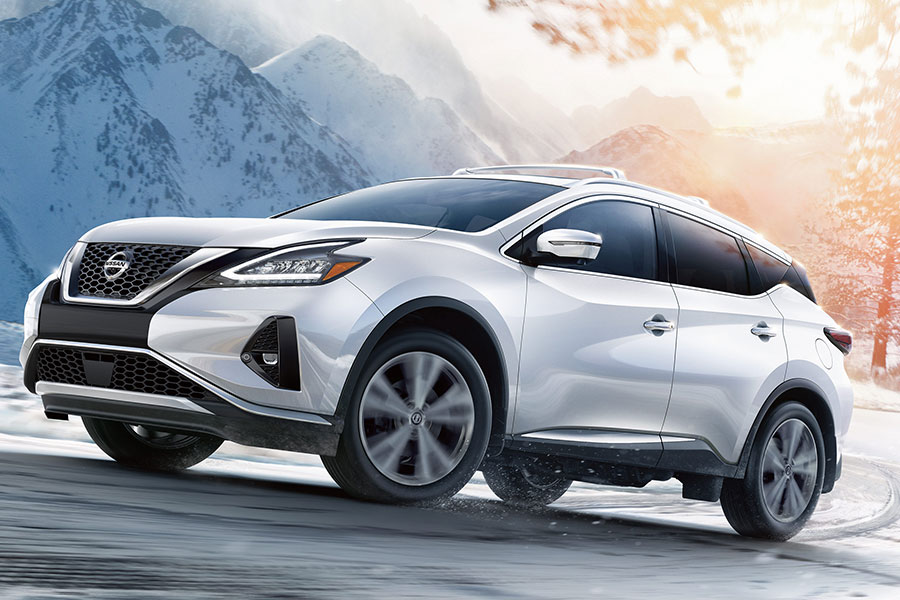 2020 Nissan Murano on the Road