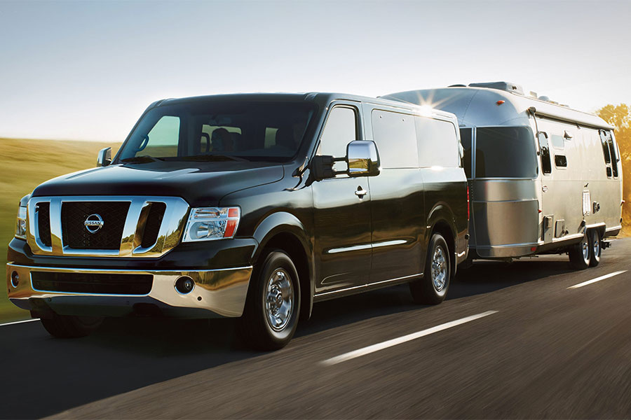 2019 Nissan NV Towing