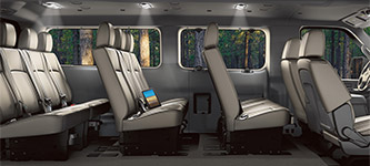 2017 Nissan NV Series Space for 12