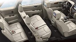 2017 Nissan Pathfinder Premium Passenger Space