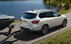 2017 Nissan Pathfinder Solid Towing Performance