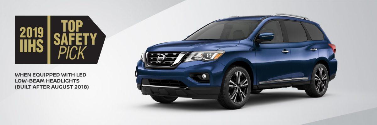 2019 Nissan Pathfinder Safety
