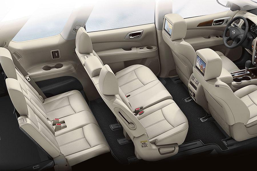 2020 Nissan Pathfinder Third Row Interior