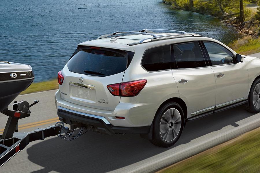 2020 Nissan Pathfinder Towing