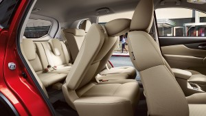 2017 Nissan Rogue EZ-Flex Seating System