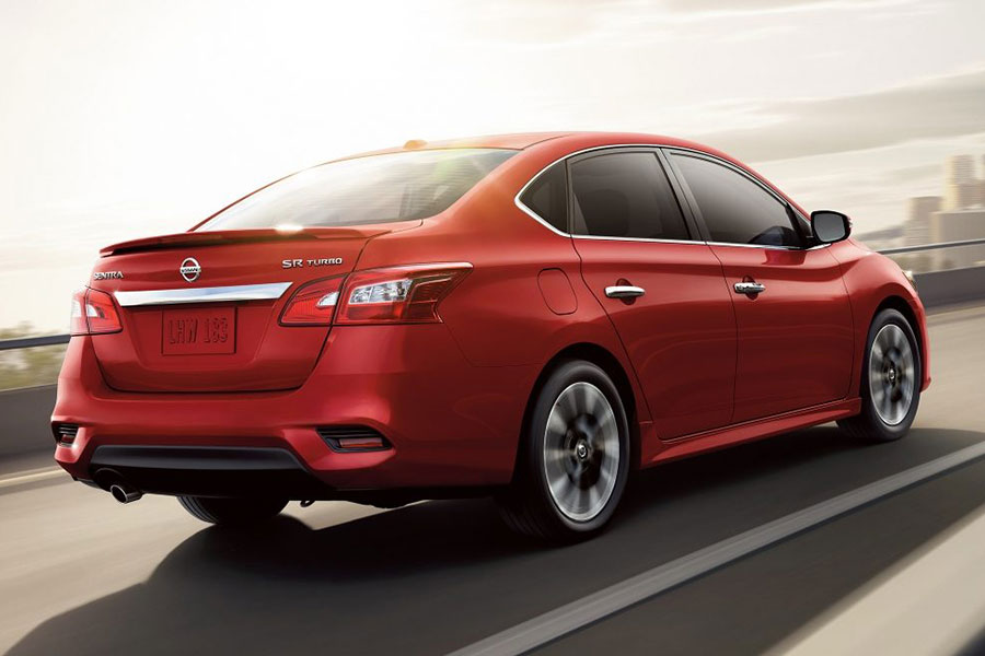 2018 Nissan Sentra On the Road