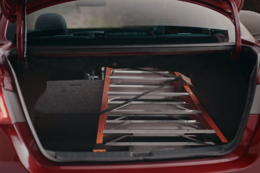 2019 Nissan Sentra Cargo Room