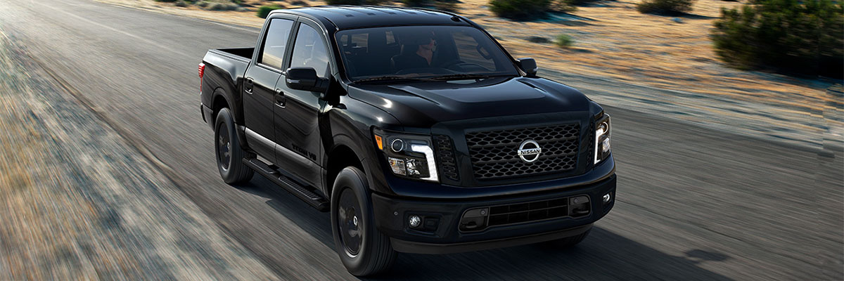 2018 Nissan TItan on Road