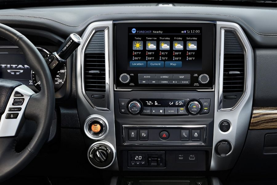 2020 Nissan Titan Technology