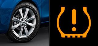 2017 Nissan Versa Tire Pressure Monitoring System