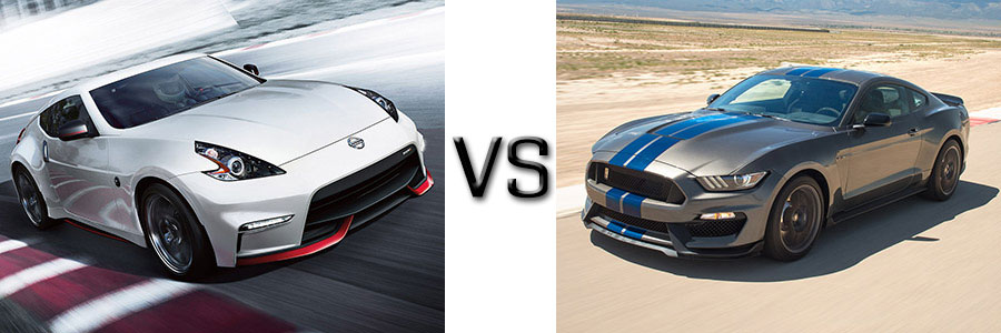 2017 Nissan 370Z vs Ford Mustang