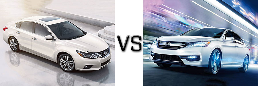 2016 Altima vs Honda Accord
