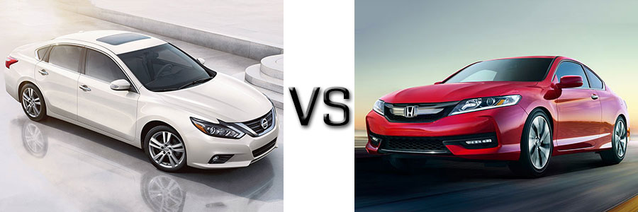 2017 Nissan Altima vs Honda Accord