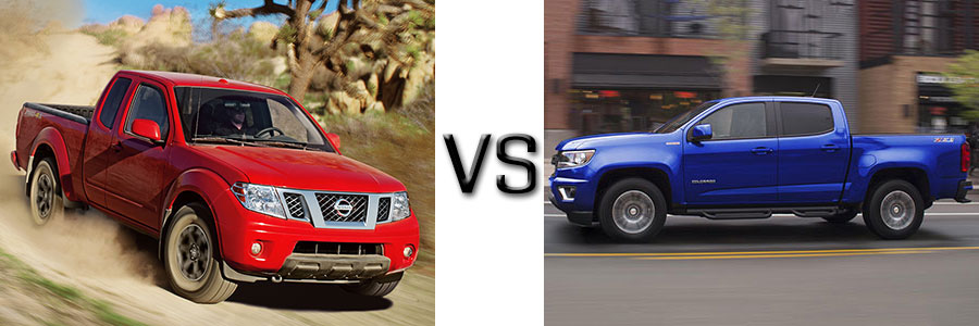 2017 Nissan Frontier vs Chevrolet Colorado
