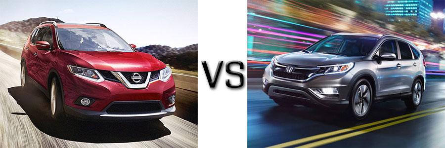 2016 Nissan Rogue vs Honda CR-V