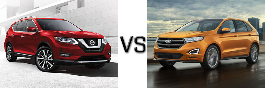 Comparison of crv and autos post for Ford edge vs honda crv