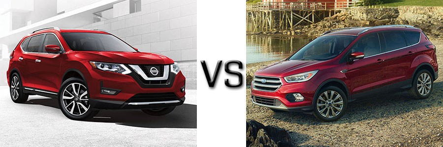 2017 Nissan Rogue vs Ford Escape