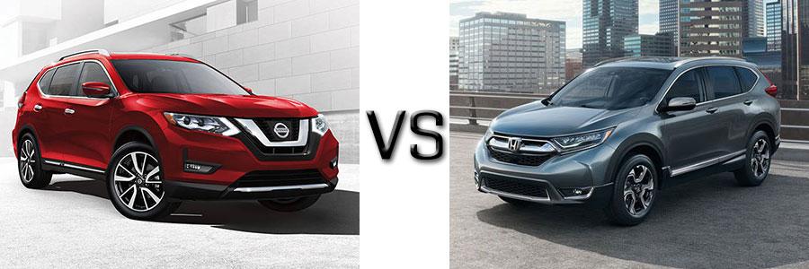 2017 Nissan Rogue vs Honda CR-V