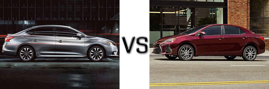 2017 Nissan Sentra vs Toyota Corolla
