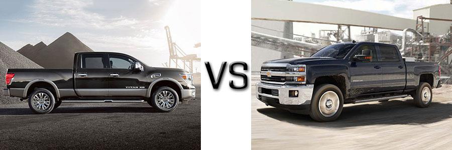 2016 Titan Diesel vs Chevrolet Silverado 2500HD