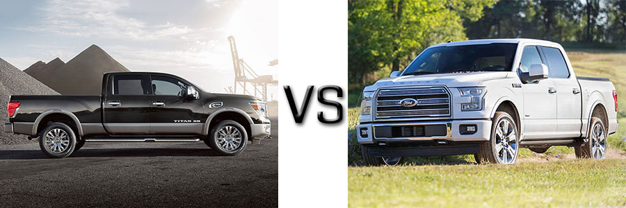 2016 Titan XD vs Ford F-150
