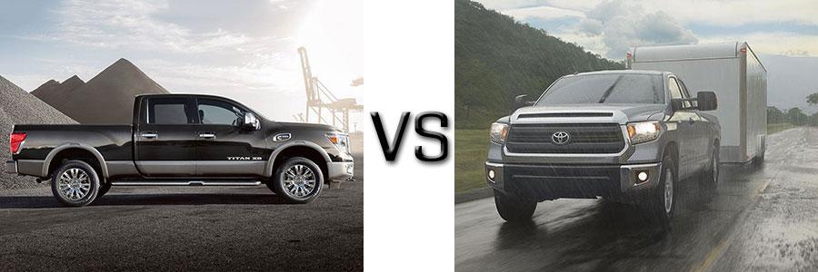 2016 Titan XD vs Toyota Tundra