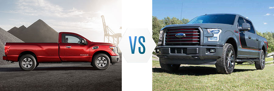 2017 Nissan Titan vs Ford F-150