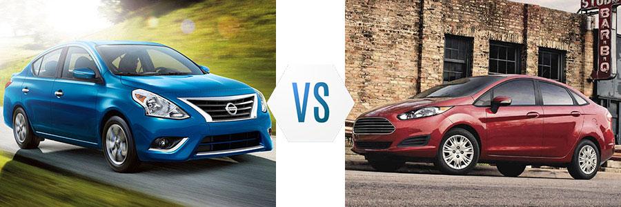 2017 Nissan Versa vs Ford Fiesta