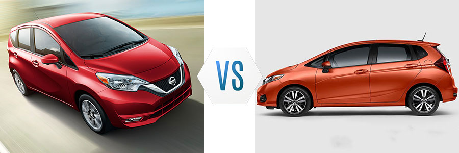 2017 Nissan Versa Note vs Honda Fit