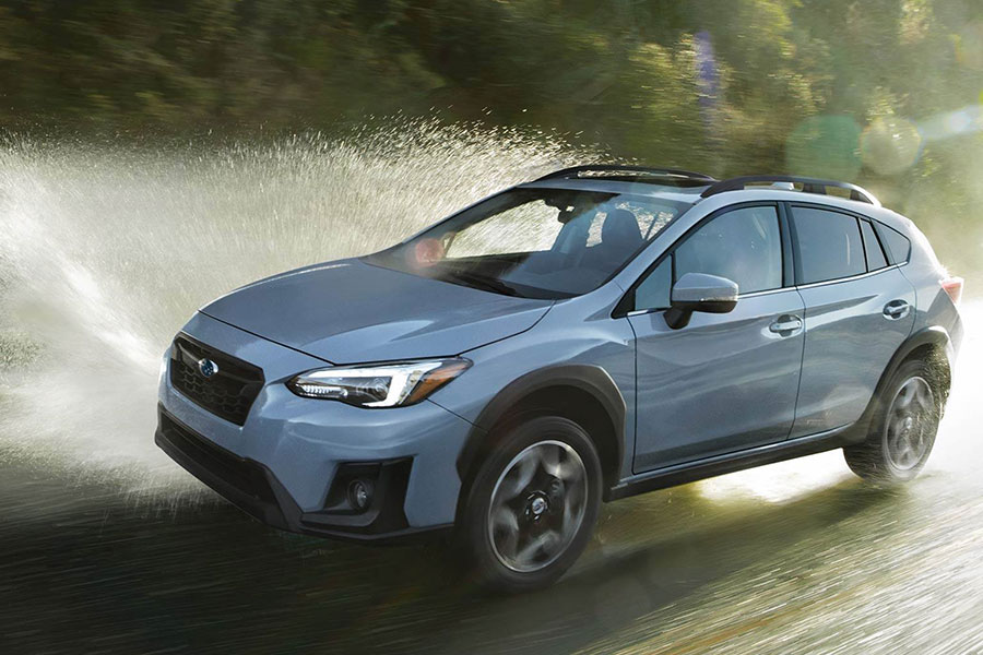 2019 Subaru Crosstrek doing SUV Type Things