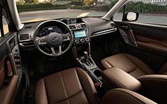2017 Subaru Forester Refined Cabin