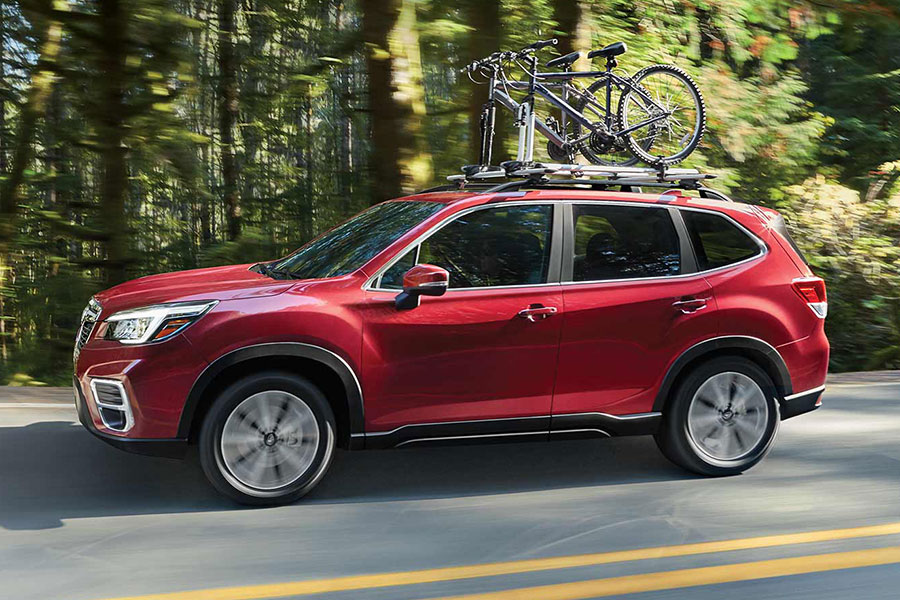 2019 Subaru Forester on the Road