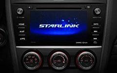 2016 Subaru Impreza Starlink Infotainment