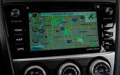 2016 Subaru Impreza Voice-Activated GPS Navigation