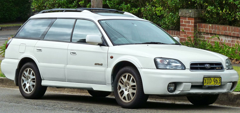 Used Subaru Outback Second Generation