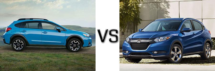 2016 Subaru Crosstrek vs Honda HR-V