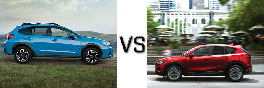 2016 Subaru Crosstrek vs Mazda CX-5
