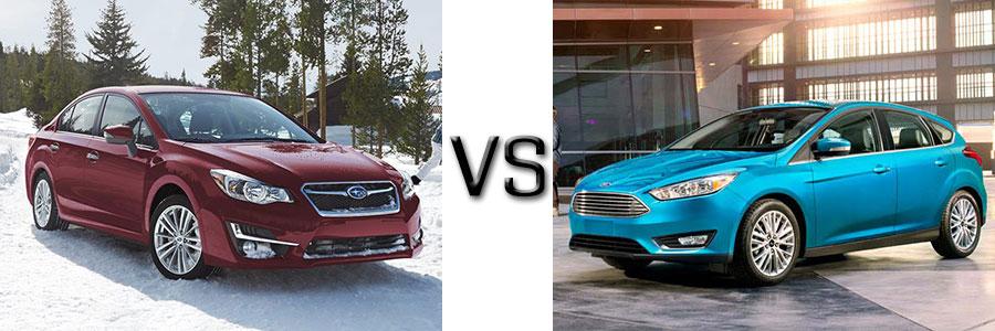 2016 Subaru Impreza vs Mazda 3