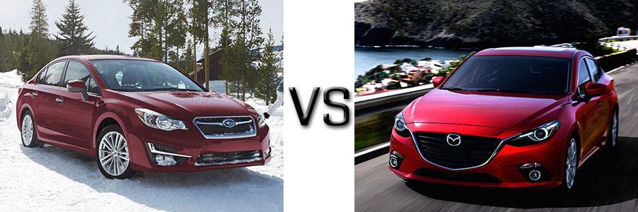 2016 Subaru Impreza vs Toyota Corolla