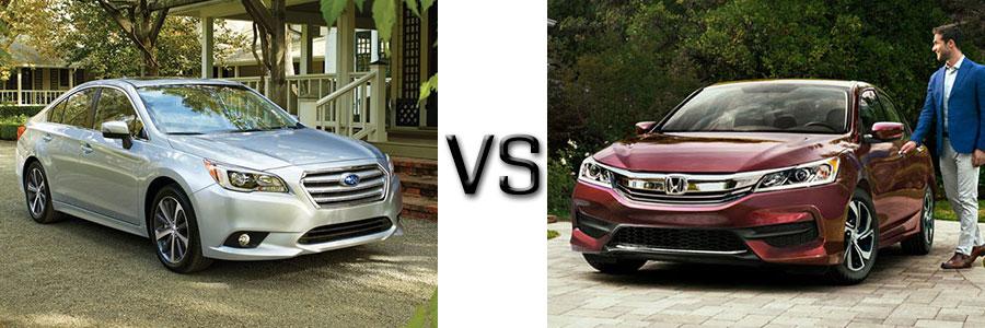 2016 Subaru Legacy vs Honda Accord
